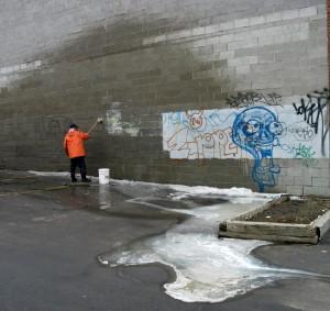 Graffiti Scrubber