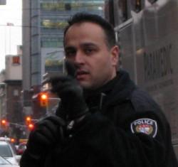 Bully cop