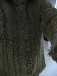 Sirdar Cardigan 8336 in Donegal Tweed
