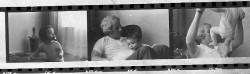 Dad and Michael, from a contact sheet
