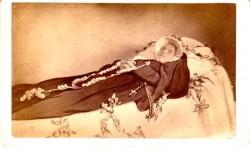 CDV of Dead Nun