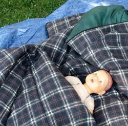 homeless doll