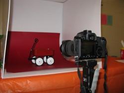 Little Red Wagon Ferret Photobooth