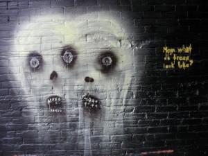 Freaky Graffiti Art