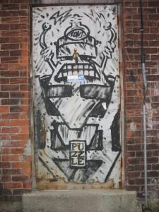 Graffiti Zoom Door