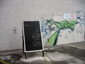 Graffiti Blackboard