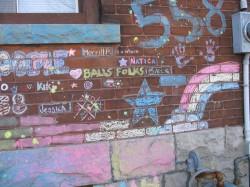 Chalk Graffiti