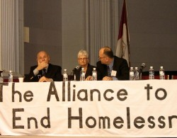 Mayor Larry at the Homelessness Forum