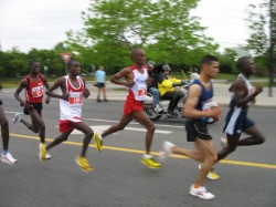 Blur of Kenyans