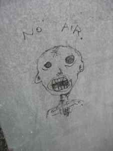 Graffiti: No Air