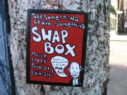 The Mayor Larry Swap Box