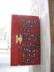 The Swap Box: Beautifying Ottawa Since 2006