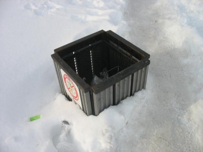 The Winter of the Short Trash Cans