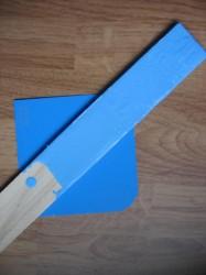 Lighter-than-Jolly-Josh Primer Stir Stick on Jolly Josh chip
