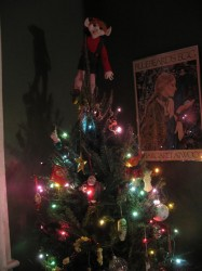 My tree with the Rogue Elf on top