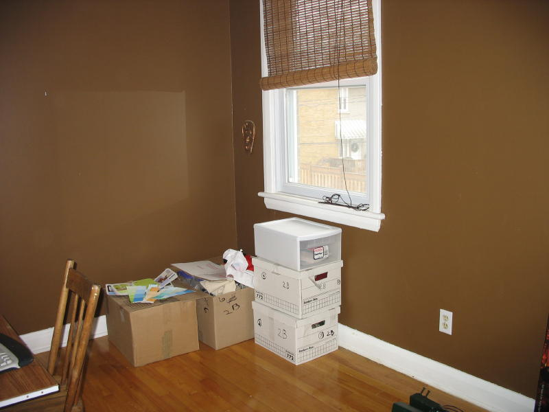 the incredibly brown room
