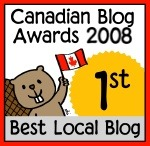 Canadian Blog Award: Best Local Blog