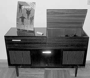 Hi-fi record player