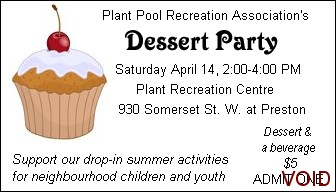 PPRA Dessert Party Ticket